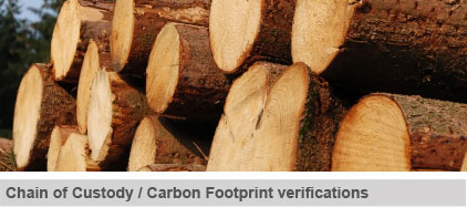 Chain of Custody / Carbon Footprint verifications